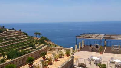 Hotel Sa Baronia Im Banyalbufar Mallorca